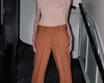 70's High Waist Trousers