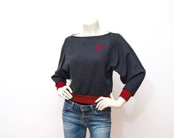 Stranger Things Organic Sweatshirt Eleven Upside Down Organic Fair Trade Stranger Sweater Season 2  Stranger Things girl Merch Merchandise