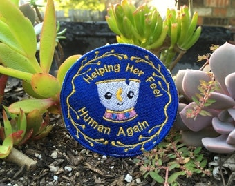 Beauty and the Beast Service Dog Patch