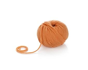 Superwash Merino Yarn - Orange Merino Wool Yarn Aran - Pure Merino Yarn - Worsted Wool Yarn -Perfect for winter knitting projects