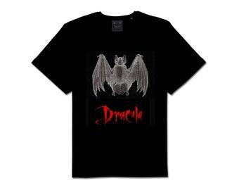 Bram Stoker's Dracula Bat Tee Shirt
