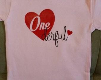 One-derful T-shirt
