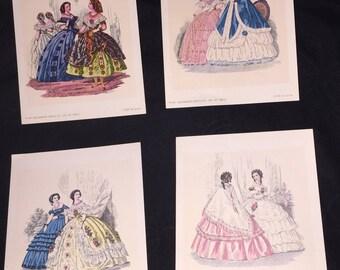 1971 Decorator Crafts Co Mini Litho Prints