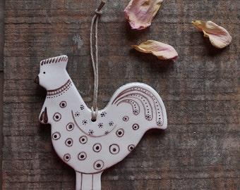Galletto ceramica