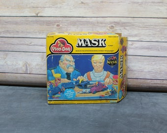 1986 Mask Play-Doh Playset, Modeling Set, #21420