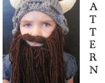 PATTERN- Kids Viking Hat and Beard