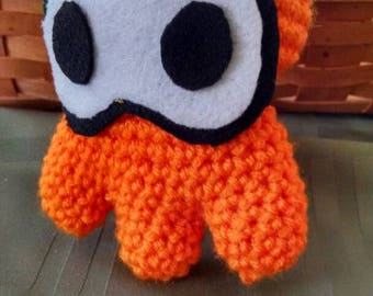MADE TO ORDER - Squid Kid Inkling Plushie - Desk Buddy - Gifts for Gamers