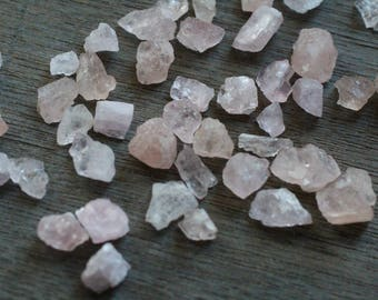 Morganite Raw Tiny Crystal A2