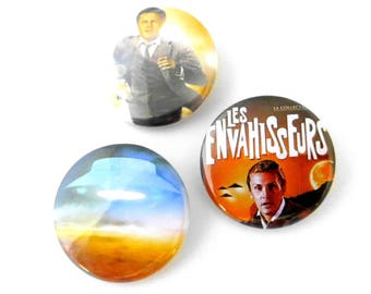 The invaders, short story in 3 badges...!