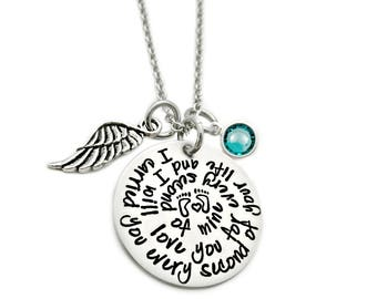 I Carried You Every Second Of Your Life - Miscarriage Remembrance - Personalized Jewelry - Miscarriage Necklace - Infant Loss Jewelry - 1128