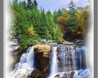 Blackwater Falls, West Virginia State Park, Davis, WV