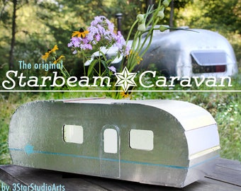The Starbeam Caravan - A Vintage Trailer Dollhouse 1:12 scale