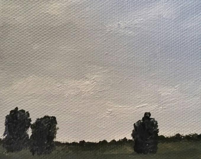 Delta - Oil Painting - Mini