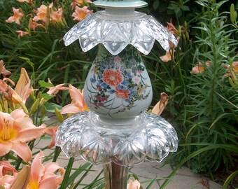Victorian Floral Garden Stake