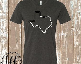Hurricane Harvey Rebuild Fundraiser | Texas Strong Tee | Houston Strong Tee | Texas Shirt | Texas Strong Shirt
