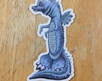 Dragon Sticker, Laptop stickers, Vinyl stickers, aesthetic stickers, cute stickers, yeti cup sticker, die cut stickers, hydroflask stickers