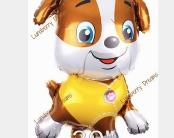 Rubble Paw Patrol Balloon