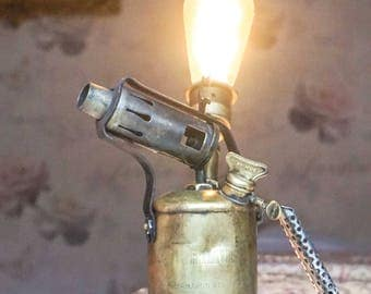 Blowtorch Lamp Antique