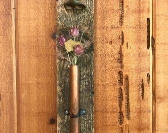 aromatherapy sculpture, green & brown