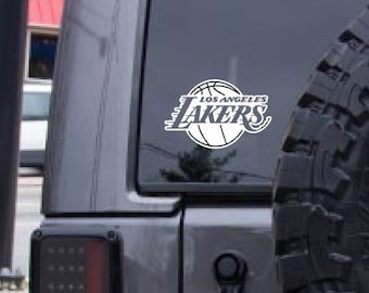 Los Angeles Lakers, basketball decal, FREE SHIPPING, sports decal, California, home decor, sports decor #218