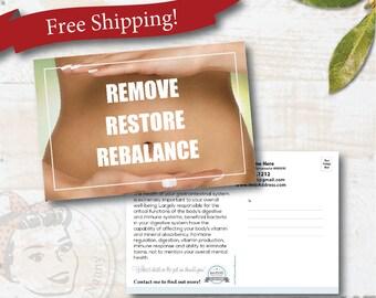 plexus postcard - Rebalance - Free Shipping