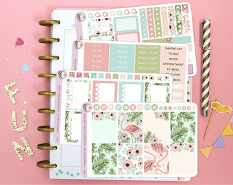 Flamingo Full Kit / Planner Stickers