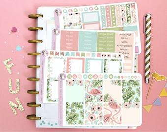 Flamingo Full Kit / Planner Stickers