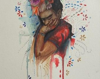 Frida kahlo original art