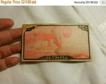 Summer Sale Intresting Army and Navy Heroes of our last War. USS Olympia Needle book