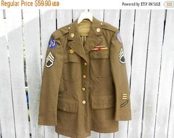 Summer Sale Vintage WW2 US Army Air Corps Jacket