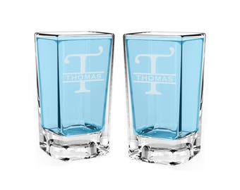 Personalized Shot Glasses, Engraved shot glass/Engraved shot glass 2.75 oz. Groomsman gift, wedding gift, personalized shot glass, Monogram