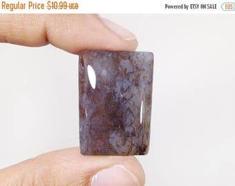 80% SALE Purple jasper Cabochon 36.5Ct (27x19x6 mm) Natural Jasper Crazy Shape NS-12170