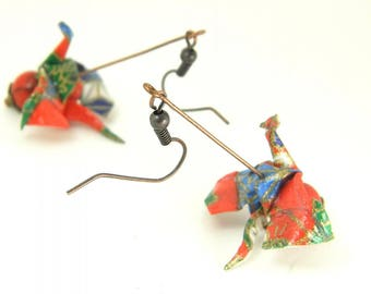 Origami earring Drake