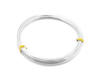 12 m aluminum 2mm silver wire