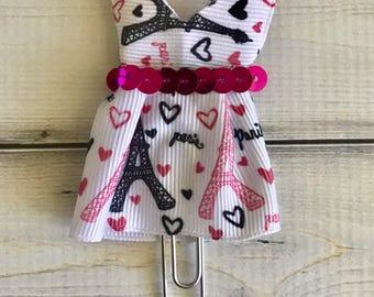 Paris Chic Dress Planner Clip