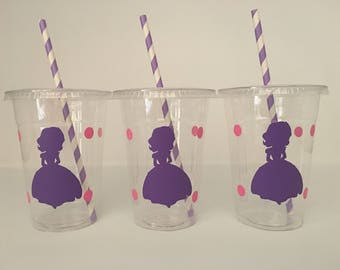 Sofia the First Party cups, Princess Sofia Party