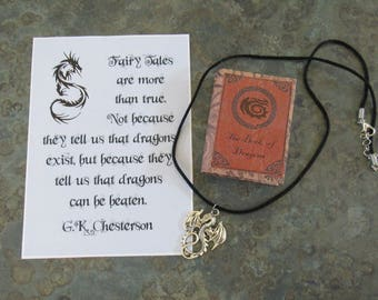 Book of Dragons with Charm
