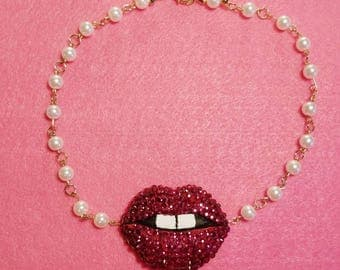 Candy Lips Necklace