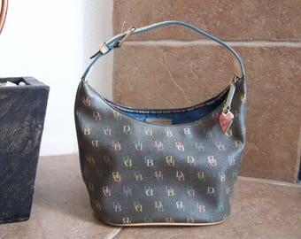 Preloved Dooney & Bourke Gray Handbag