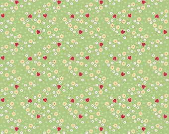 1/2 Yard Bake Sale 2  by Lori Holt of Bee in My Bonnet for Riley Blake Designs-6985 Green