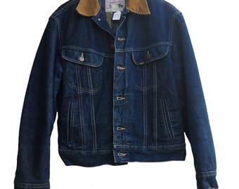 Lee Storm Rider Vintage Denim Jacket, Size L