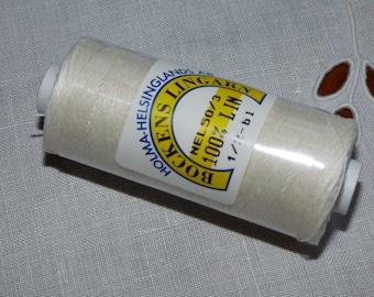 Linen Bockens half white number 50/3