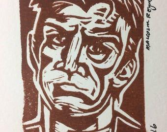 Mal (Firefly) Linocut Print