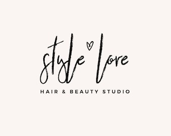 Premade Logo - Logo Design - Feminine Logo - Business Logo - Blogger Logo - Brand Design - Fashion Logo - Blog Header