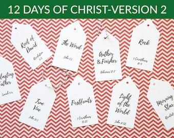 12 Days of Christ- Version 2
