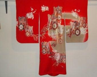 Japanese Kimono For A Little Girl