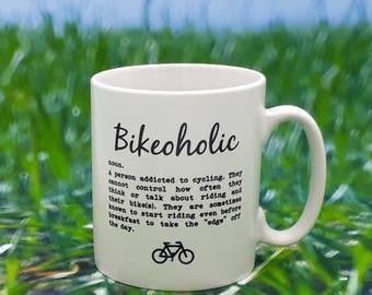 Cycling Mug - Bikeoholic