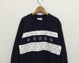 BIG SALE Vintage Sergio Tacchini Sweatshirt/Sergio Tacchini Sportwear/Sergio Tacchini Pullover/Sergio Tacchini Sweater