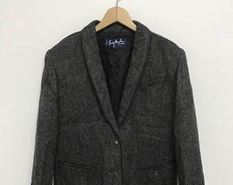 20% OFF Vintage Thierry Mugler Paris/Tierry Mugler Blazer/Coat/Designer Clothing/Yohji Yamamoto/Issey
