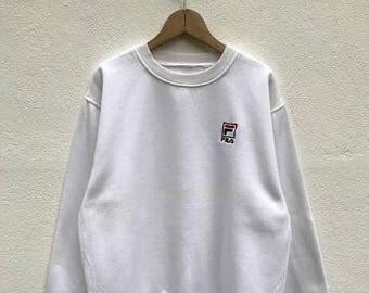 20% OFF Vintage Fila Sweatshirt,Fila Big Logo,Fila Italia,Fila Sweater,Fila Bj,Fila Tennis Shirt,Fila Italia